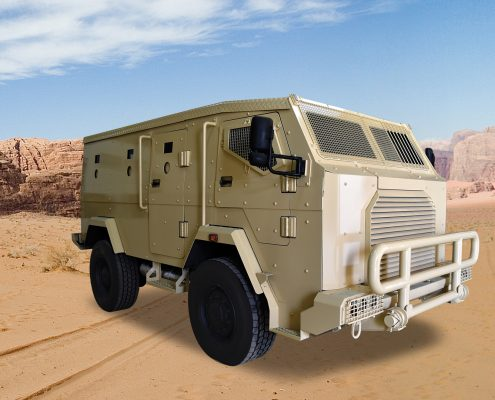 ARMORED WHEELED AND TRACKED VEHICLES -X – Eraf Group